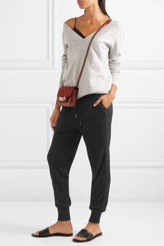 Burberry - Wool-blend Track Pants - Black