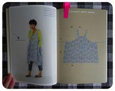 japanese apron dress pattern - Google Search