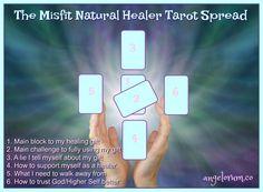 The Misfit Healer (with Tarot Spread)
