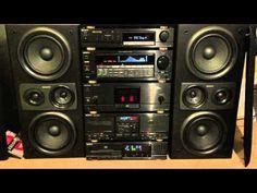 Sony LBT-V925 Hifi System - YouTube Hifi Stereo, Hifi Audio, Radios, Home Theater Sound System, Sony Speakers, Sony Electronics, Hi Fi System, Antique Radio, Music System