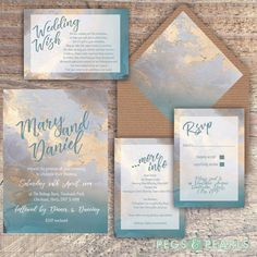 Personalised Luxury Modern Wedding Invitations Blues & Beige Marble Packs Of 10 Wedding Invitation Video, Classy Wedding Invitations, Minimalist Wedding Invitations, Watercolor Wedding Invitations, Printable Wedding Invitations, Wedding Invitation Templates, Wedding Stationery, Foil Stamped Wedding Invitations, Wedding Cards