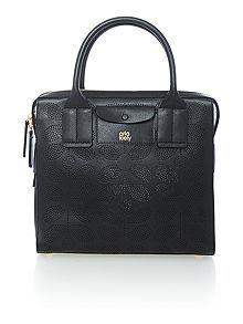 Margot black tote bag