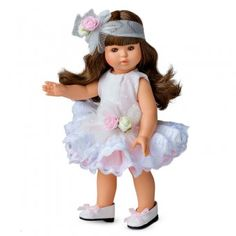 Papusa Berjuan LUX - Sofy Girls Dresses, Flower Girl Dresses, Wedding Dresses, Fashion, Dresses Of Girls, Bride Dresses, Moda, Bridal Gowns, Fashion Styles