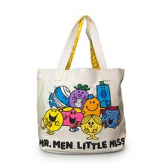 Lounge Mr Men and Little Miss Tote Bag
