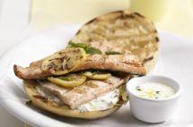 SiempreMujer.com: Sándwich de trucha a la parrilla con limón y hierbas