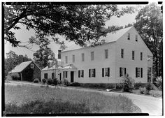 Rockingham, circa 1936. Rockingham was General George Washington's final Revolutionary War headquarters for about two and a half months in 1783, while the Continental Congress was meeting in Princeton. The home was built in 1710 and enlarged in 1760. Discover more history @ www.thehistorygirl.com