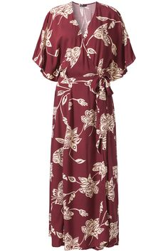 Indian Summer   Fall collection   Dress   Maxi   Red   Flowers   Print