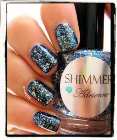 Shimmer+Nail+Polish++Adrienne+by+ShimmerPolish+on+Etsy,+$12.00