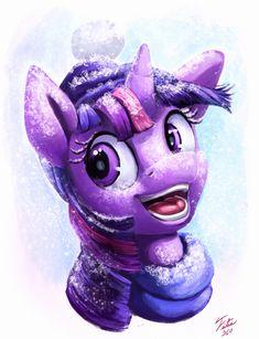 Snow Pony_Twilight by Tsitra360.deviantart.com on @DeviantArt