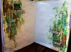 Freedom is a stete of mind- Art Journal