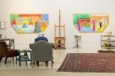 David Hockney, Contrarian, Shifts Perspectives - The New York Times