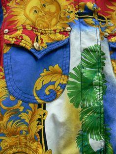 versace vintage jacket - Google Search