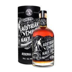Austrian Empire Navy Rum Reserve 1863 Tube GB
