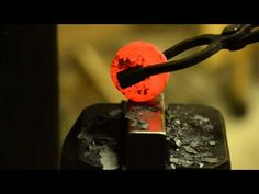 Blacksmithing - Forging a cupping/rounding bolster - YouTube