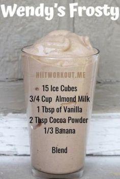 Yummy Drinks, Healthy Drinks, Healthy Snacks, Yummy Food, Healthy Recipes, Tasty, Paleo Smoothie Recipes, Coffee Smoothie Recipes, Protein Shake Recipes