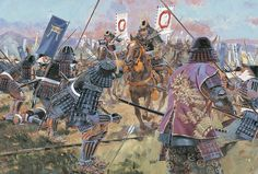 """""""The defence line of the Oda/Tokugawa army was not protected by a continuous fence, but one that was staggered to allow a counter attack, Nagashino 1575"""""""
