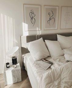Home Interior Salas .Home Interior Salas Room Ideas Bedroom, Home Bedroom, Bedroom Decor, Design Bedroom, Rooms Ideas, Bedrooms, Modern Bedroom, Aesthetic Room Decor, New Room