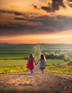 Holding hands walking together, friends, bff photography ideas kids, sister photography poses, Sibling Photos, Sister Photos, Family Photography, Amazing Photography, Photography Ideas Kids, Sister Photography Poses, Country Kids Photography, Digital Photography, Art Photography