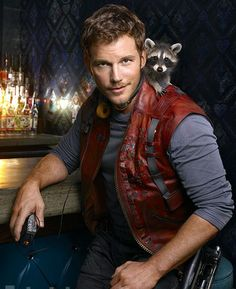 10/10 would let him guard my galaxy... - Imgur  Guaranteed to make me smile every day!  I LOVE Chris Pratt <3