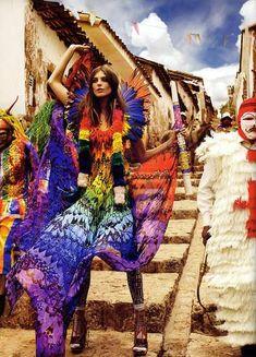 Vibrant Carnival Editorial