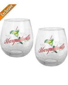 Margaritaville Exclusive 2-pc. Stemless Goblet Set