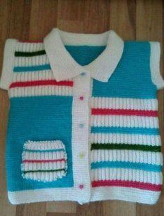 Pastel colours baby cardigan K Baby Knitting Patterns, Baby Sweater Knitting Pattern, Knitting Designs, Baby Pullover, Baby Cardigan, Knit Cardigan, Baby Sweaters, New Wardrobe, Beautiful Models