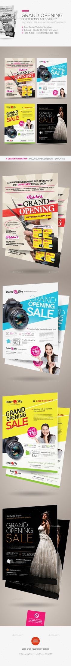 10 best grand opening flyer images on pinterest card templates