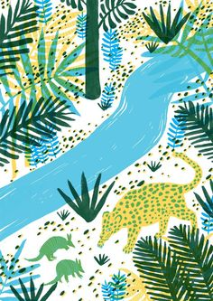 Zanna Goldhawk is an Illustrator based in the UK, focussing on nature and colours. www.zannagoldhawk.co.uk