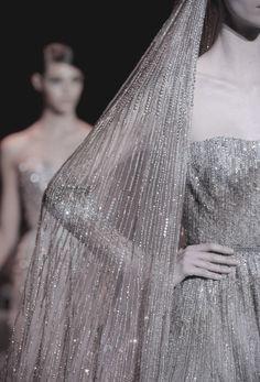 voguelovesme:  Couture Fashion Week Elie Saab Fall 2013