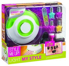 Kids' Finger Paint - Light My Style 1721 Green Nail Dryer and Top Spot Nail Polish Playset ** Visit the image link more details.