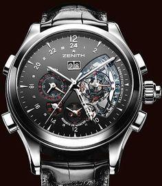ZENITH - Grande Class Traveller Minute Repeater. Сложные часы Σπορ Ρολόγια aa80cff3857