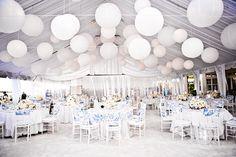 20 Pretty Perfect All White Reception Decor