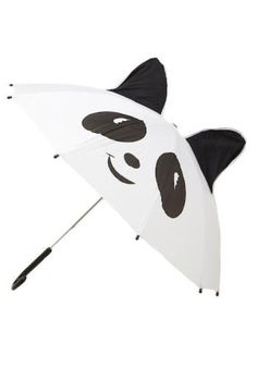 ModCloth Travel Panda-monium Umbrella