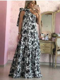 Chic Dress, Dress Skirt, Casual Dresses, Fashion Dresses, African Print Clothing, Most Beautiful Dresses, Maxi Robes, Little Dresses, Pretty Outfits