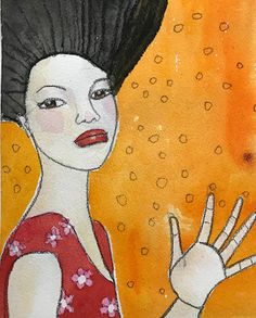 Monica Blom Art: Akvarell