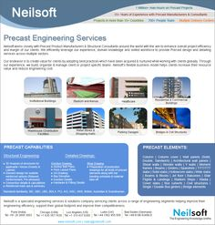 Precast Engineering Services at Neilsoft Million Men, Concrete Structure, Shopping Malls, 15 Years, Engineering, 15 Anos, Architectural Engineering