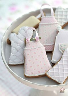 apron and oven mitt decorated cookies sweetopia