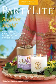 Catalogue Hiver/Printemps 2014 Voilà mon outil de TRAVAIL!!! MAGNIFIQUE!!!! Partylite, Bright, Catalogue, Table Decorations, Passion, Winter Time, Spring, Products, Winter