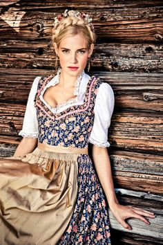 We must wear dirndls. You have no choice.