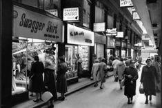 Wolfgang Sievers, NLA collection Flinders Lane and adjoining Degraves Street (pictured) were home to Melbourne's fashion industry until the 1980s.