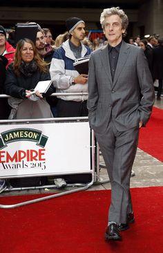 "His name is Peter Capaldi, but I just call him, ""DAMN!"""