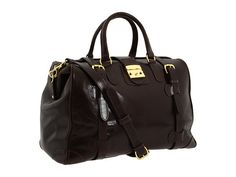 Mulholland Brothers Safari Weekend Bag Lariat Leather - Zappos.com Free  Shipping BOTH Ways Fashion 83f3d9414c220
