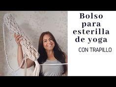 Bolso de yoga de MACRAMÉ , bolso para esterilla de yoga - YouTube