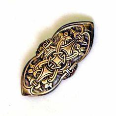 Replica of a Viking brooch from Birka by PeraPeris on Etsy