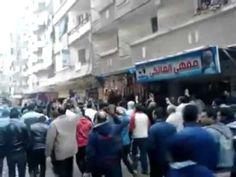 مسيرة لثوار الحضرة الجديدة فى الذكرى الرابعة لثورة #25يناير