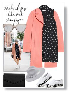 """""""Pop of Pink"""" by easy-dressing ❤ liked on Polyvore featuring Naven, MANGO, Lack of Color, Le Specs and LULUS"""