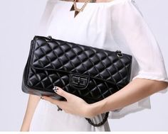 270edf679 26.44 |2015 shoulder Messenger Bag women handbag Patent leather pearl  capacity portable shoulder handbags bolsas femininas channel bag en Bolsas  de hombro ...