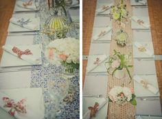 Deco table avec liberty (blog : Un Beau Jour)
