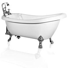 Freistehende Badewanne Florenz Acryl Bathtub Nostalgie Schloß 172x78 H204 Retro | eBay