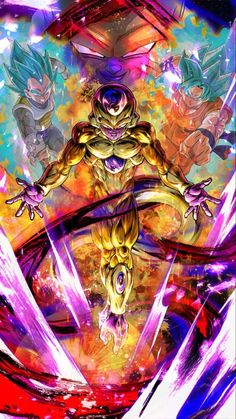 Here you will watch an AMV from the recent Dragon Ball Super movie. Dragon Ball Z, Simbolos Star Wars, Mega Anime, Goku Wallpaper, Z Arts, Animes Wallpapers, Freezer, Dbz Vegeta, Technology Wallpaper